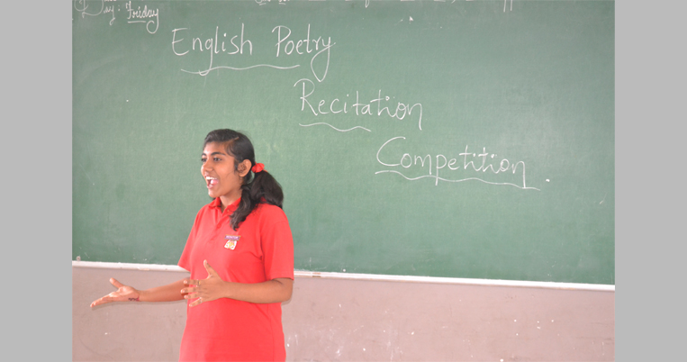 English poetry Recitation