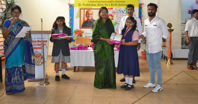 Drawing competition on Chairman Sir's Birthday